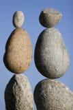 Ausgeglichene Steine Stockbild