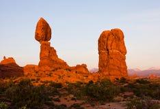 Ausgeglichener Felsen Stockbilder