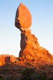 Ausgeglichener Felsen Stockfotos