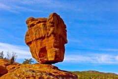 Ausgeglichener Felsen Stockbild