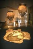 Ausgegrabene Relikte im Museum, Chengdu, Porzellan Stockfoto