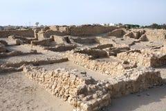 Ausgegrabenes altes Saar-Dorf Stockfotos
