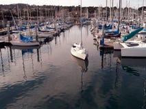 Ausgehen zu segeln Stockfotos