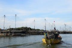 Ausgelöst für die Fischerei Lizenzfreies Stockfoto