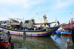 Ausgelöst für die Fischerei Lizenzfreie Stockfotografie
