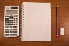 Ausgerichtete Mathematik Stockfotografie