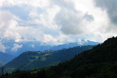 Ausgezeichnete alpine Landschaft Lizenzfreies Stockbild