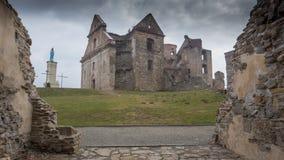 Ausgezeichnete Ansicht des alten Schlosses Lizenzfreie Stockfotos