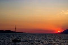Ausgezeichnete Ansicht von Kotor-Bucht Montenegro Lizenzfreie Stockfotografie