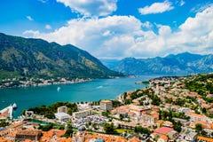 Ausgezeichnete Ansicht von Kotor Montenegro Lizenzfreie Stockfotos
