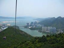 Ausgezeichnete Ansicht von Lantau-Insel Lizenzfreie Stockfotografie