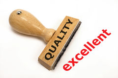 Ausgezeichnete Qualität stockfoto