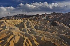 Ausgezeichneter Himmel von Death Valley Stockfotos