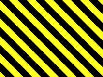 Ausgezeichneter Hintergrund mit den schwarzen und gelben Streifen stock abbildung
