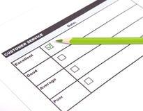 Ausgezeichneter Kundendienst Lizenzfreie Stockbilder