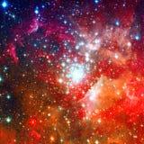 Ausgezeichneter Nebelfleck im Weltraum Lizenzfreies Stockbild