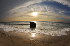 Ausgezeichneter Sonnenuntergang Lizenzfreies Stockfoto