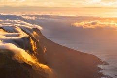 Ausgezeichneter Sonnenuntergang Lizenzfreie Stockbilder