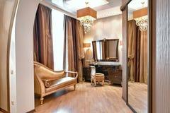 Ausgezeichnetes Schlafzimmer stockfotos