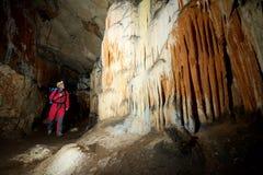 Aushöhlen in Spanien Stockbild