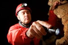 Aushöhlen in Spanien Lizenzfreies Stockfoto