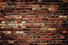 Aushwitz ściana z cegieł obrazy royalty free