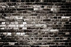 Aushwitz ściana z cegieł zdjęcie stock
