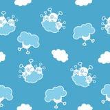 Ausländer des blauen Himmels Stockbild