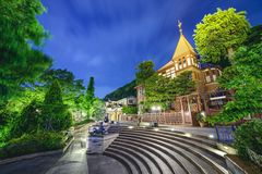 Ausländer-Häuser Kobes, Japan Stockfoto