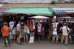 Ausländer an Jatujak oder an Chatuchak-Markt Stockfotos