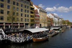 AUSLÄNDISCHE TOURISTEN IN DÄNEMARK Lizenzfreie Stockbilder