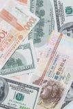 Ausländische Währung Stockfotos