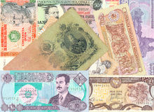 Ausländischer Banknoten Lizenzfreie Stockfotos
