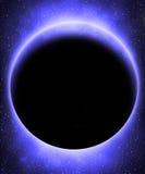 Ausländischer blauer Planet stock abbildung