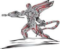 Ausländischer Cyborg vektor abbildung