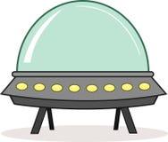 Ausländisches Raumschiff Stockbild