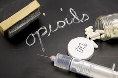 Auslöschung von Opioids stockfoto