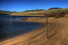 auslakequeensland wivenhoe arkivbild