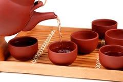 Auslaufender Tee Stockfotografie