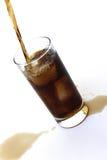 Auslaufendes Soda Stockbild