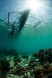 Ausleger und Fischer Lizenzfreie Stockbilder