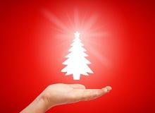 Auslegung der frohen Weihnachten Lizenzfreies Stockfoto
