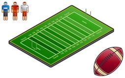 Auslegung-Elemente 48f. Sport-Feld lizenzfreie abbildung