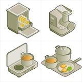 Auslegung-Elemente P. 14d stock abbildung