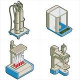 Auslegung-Elemente p.26a Stockfoto