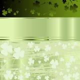 Auslegung für Tag Str.-Patricks Stockbild