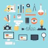 Auslegung und Entwicklung Lizenzfreie Stockfotografie