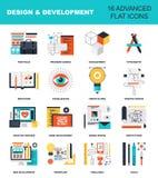Auslegung und Entwicklung Stockfoto