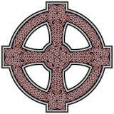 Auslegungelement des keltischen Kreuzes Stockfotos