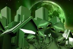 Ausländer-Grundbesitz Stockfotos